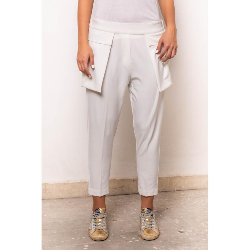 Flying Pockets Pants In Off White