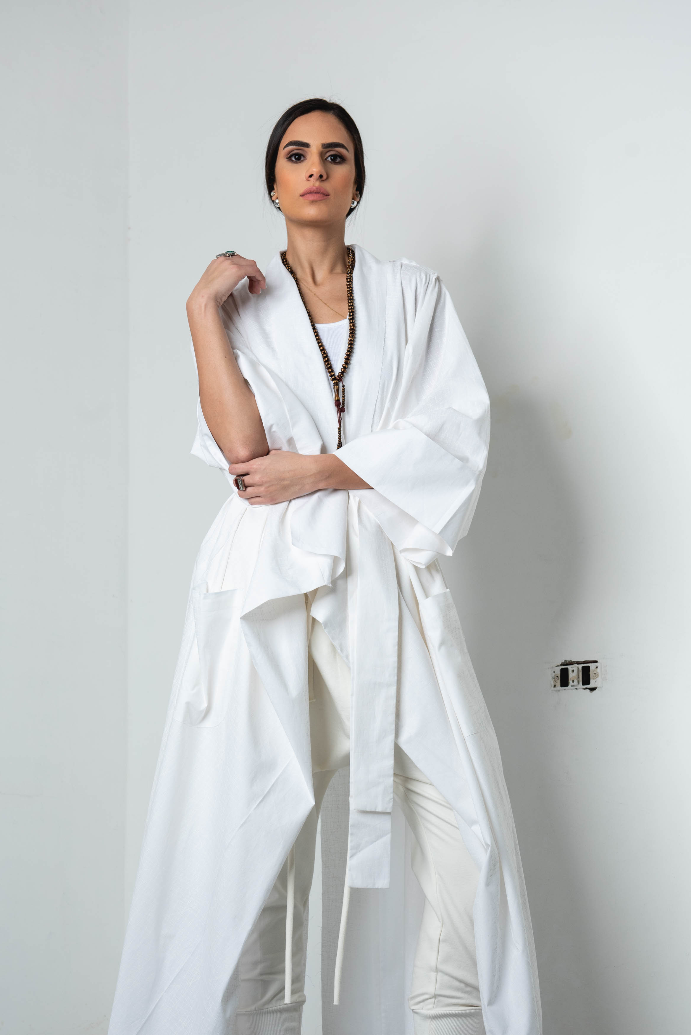 The Rob Kaftan In Off White